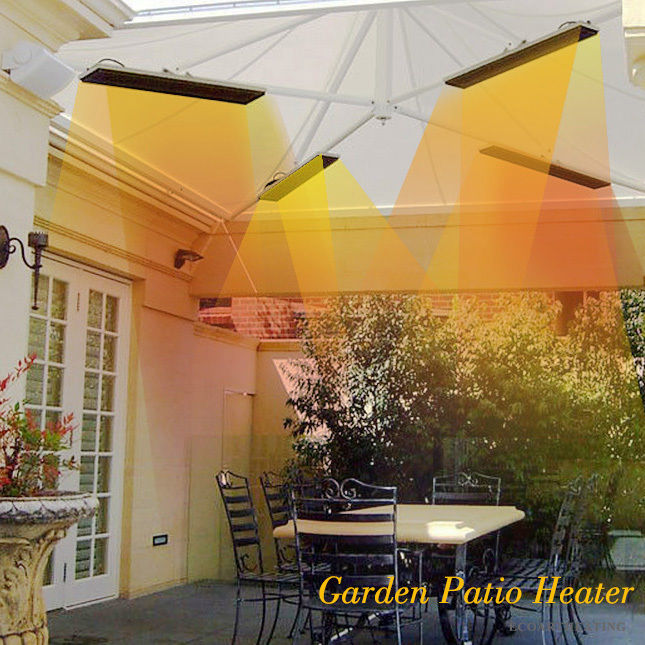 1800W Blacklight Radiant Ceiling Mounted Garden Patio Heater With Remote  Controller U0026 Thermostat. Sale! $349.85 $320.69