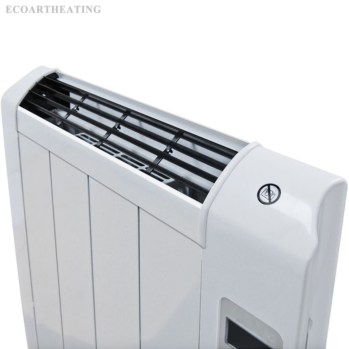 Electric Bathroom Heaters >> 1200W Portable Slim Electric Panel Heater | EcoArt-Heating Community|Infrared Heating