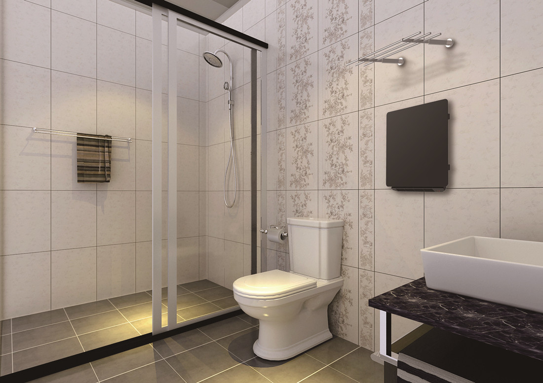 Infrared bathroom heater