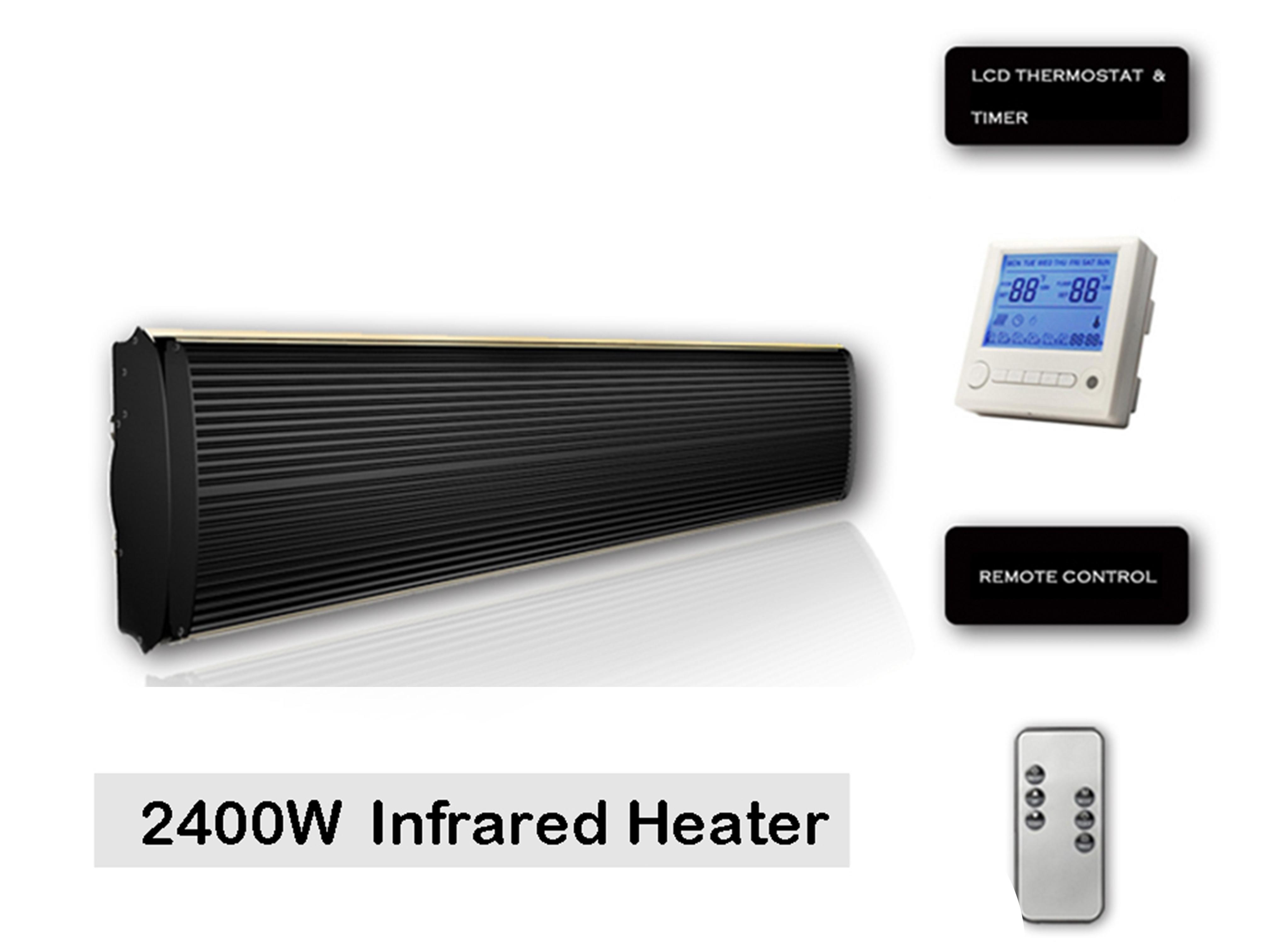 2400W infrared heater